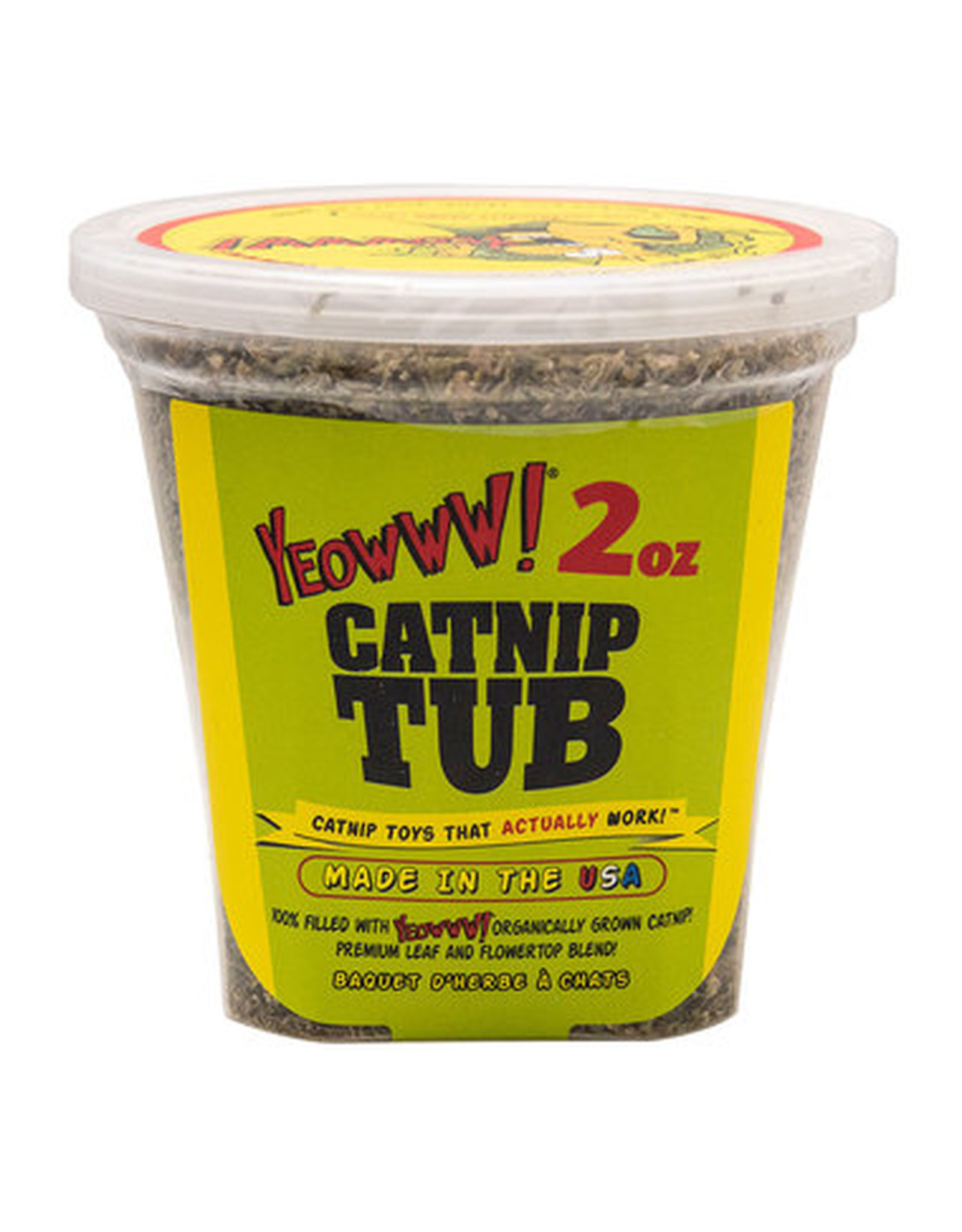 DuckyWorld Products, Inc. YEOWWW! CAT CATNIP TUB 2OZ