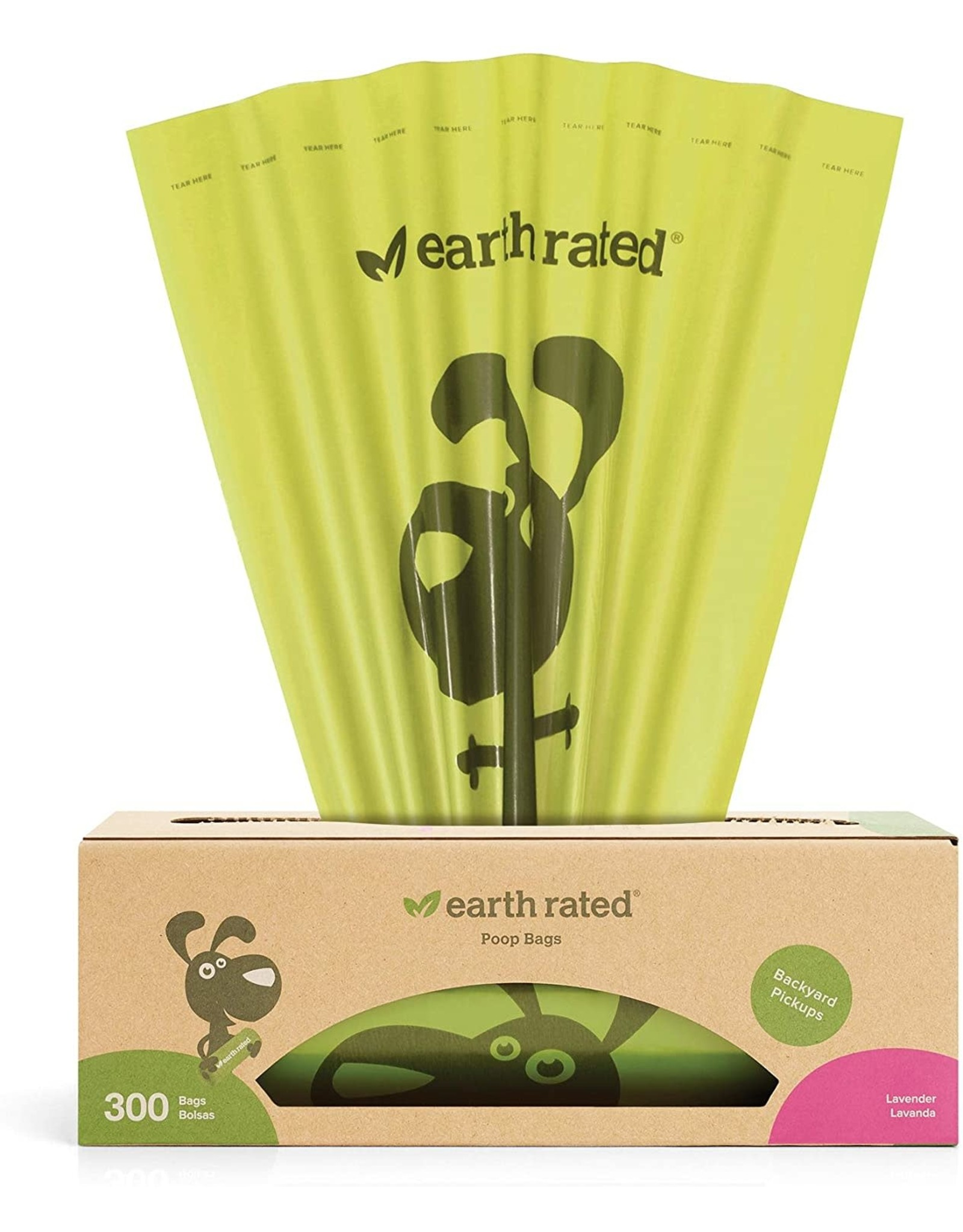 Earth Rated EARTH RATED 300-COUNT SINGLE ROLL POOP BAGS