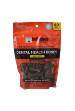 Indigenous Pet Products INDIGENOUS DENTAL HEALTH BONES MINI SIZE SMOKED BACON FLAVOR 40-COUNT