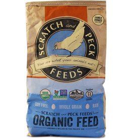 Scratch & Peck Feeds SCRATCH & PECK CHICKEN 3-GRAIN SCRATCH 25LB