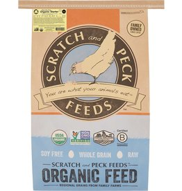 Scratch & Peck Feeds SCRATCH & PECK CHICKEN NATURALLY FREE ORGANIC STARTER