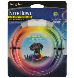 Nite Ize NITE IZE NITEHOWL RECHARGEABLE DISC-O SELECT SAFETY NECKLACE