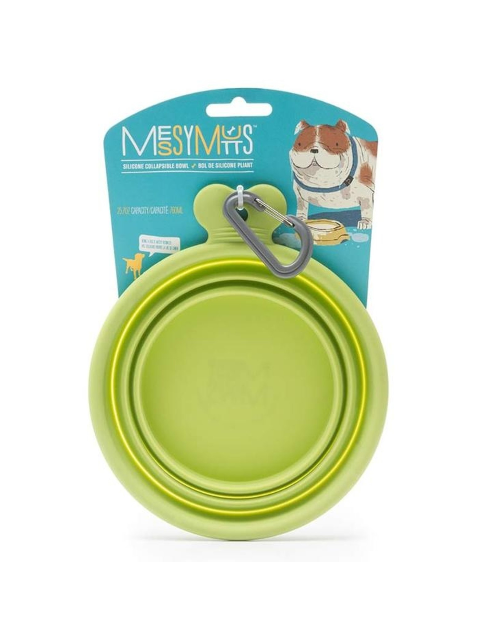 Messy Mutts MESSY MUTTS SILICONE COLLAPSIBLE BOWL