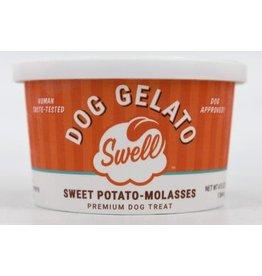 Swell Dog Gelato SWELL SWEET POTATO-MOLASSES DOG GELATO 4OZ