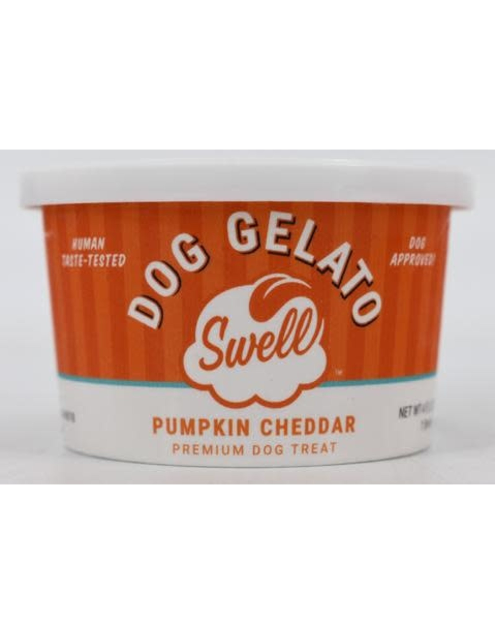 Swell Dog Gelato SWELL PUMPKIN CHEDDAR DOG GELATO 4OZ
