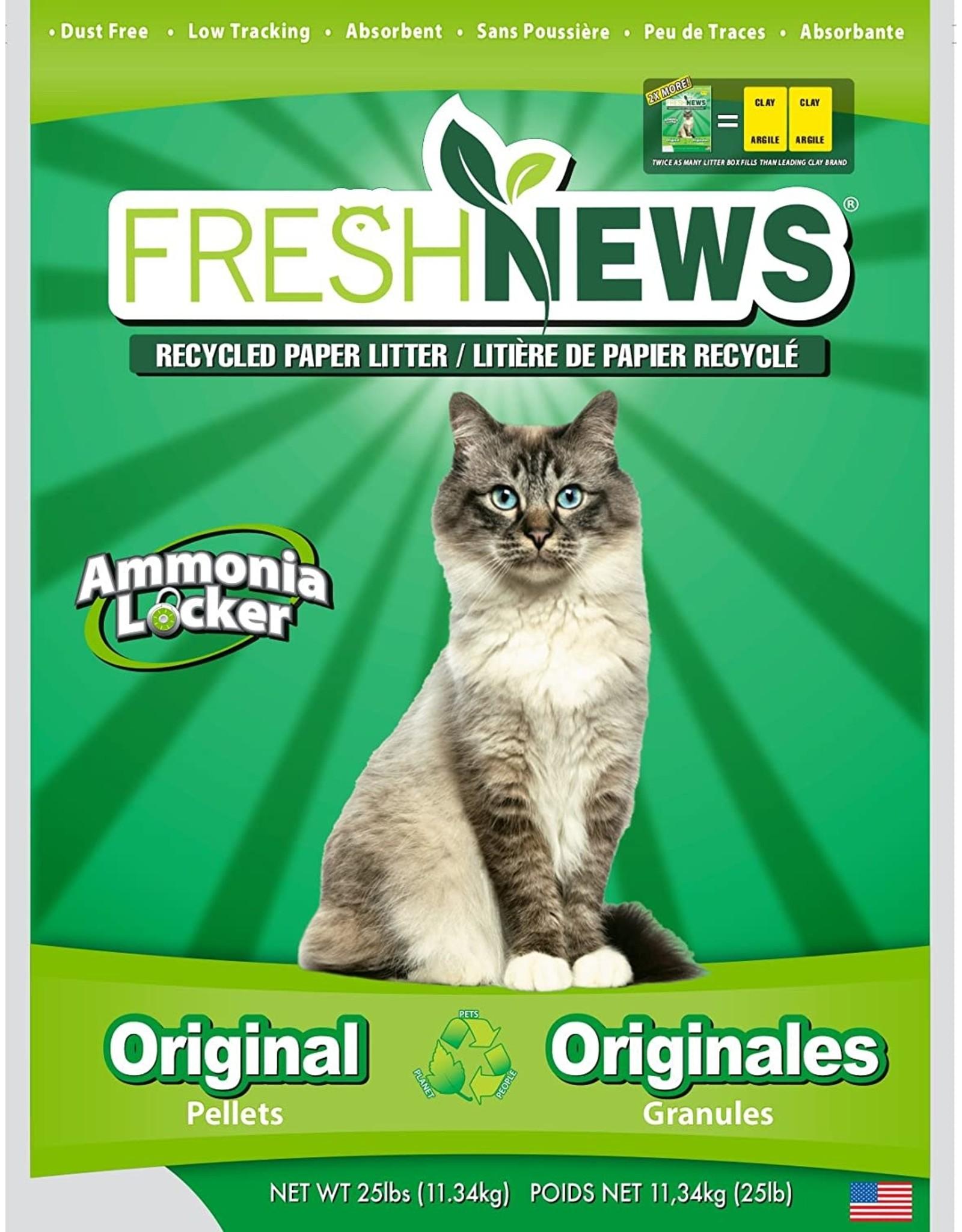Fresh News FRESH NEWS RECYCLED PAPER CAT LITTER