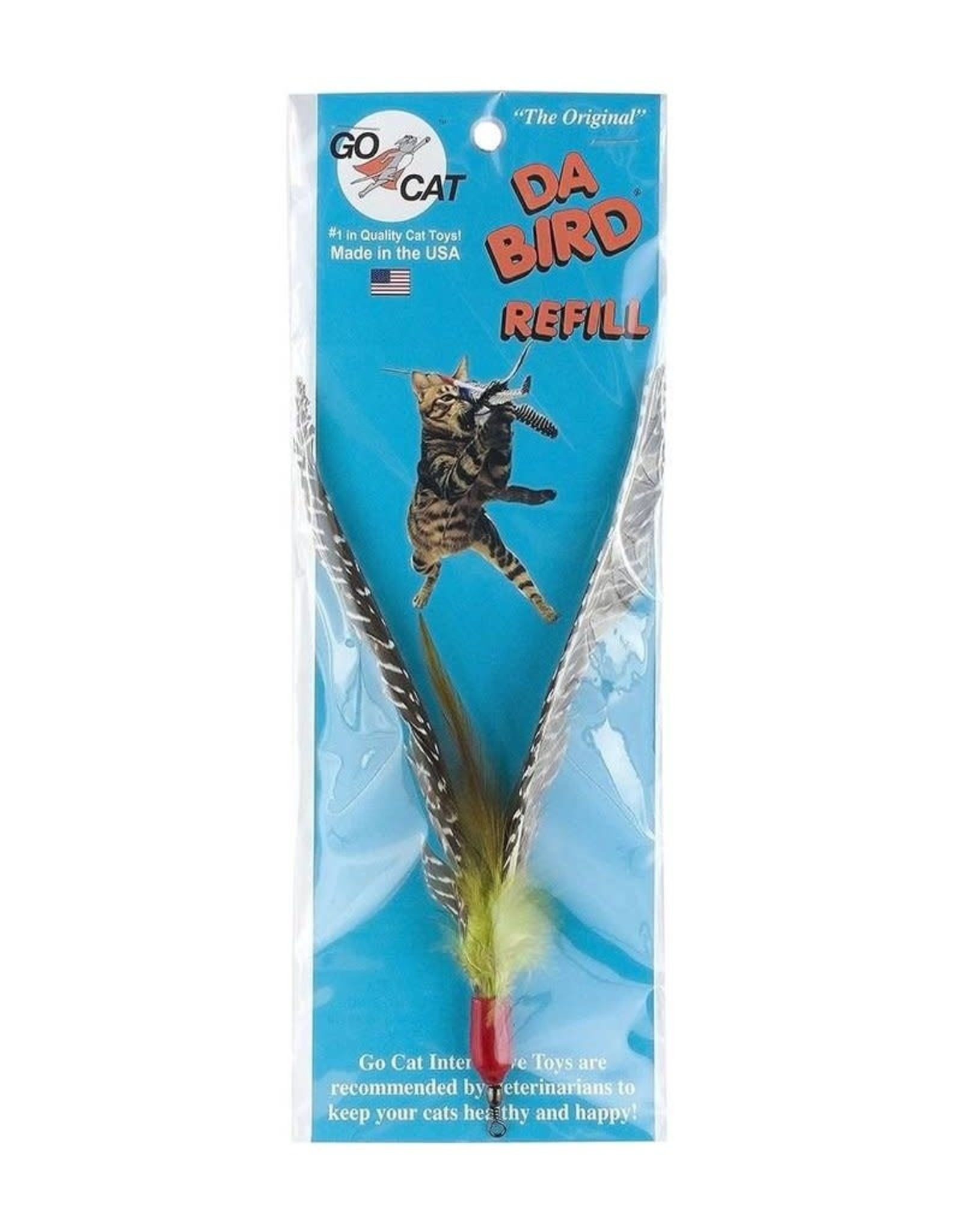 Go Cat Feather Toys GO CAT DA BIRD REFILL