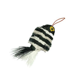 Go Cat Feather Toys GO CAT DA FISH ZEBRA REFILL