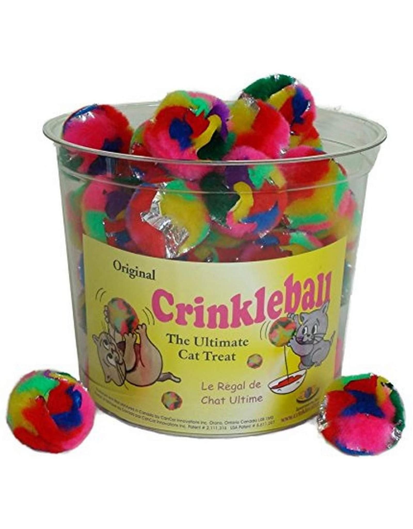 Go Cat Feather Toys MINI CRINKLE BALL