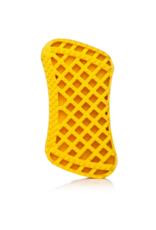 Furbliss FURBLISS YELLOW BRUSH FOR LARGE PETS WITH SHORT HAIR