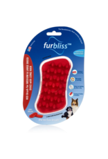 Furbliss FURBLISS RED BRUSH FOR LARGE PETS WITH LONG HAIR