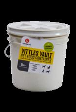 Gamma Plastics, Inc. GAMMA2 VITTLES VAULT PET FOOD CONTAINER WITH QUART DISH 8-10LB