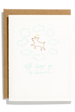 Iron Curtain Press IRON CURTAIN PRESS ALL DOGS GO TO HEAVEN GREETING CARD