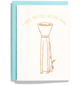 Iron Curtain Press IRON CURTAIN PRESS FEEL BETTER GREETING CARD