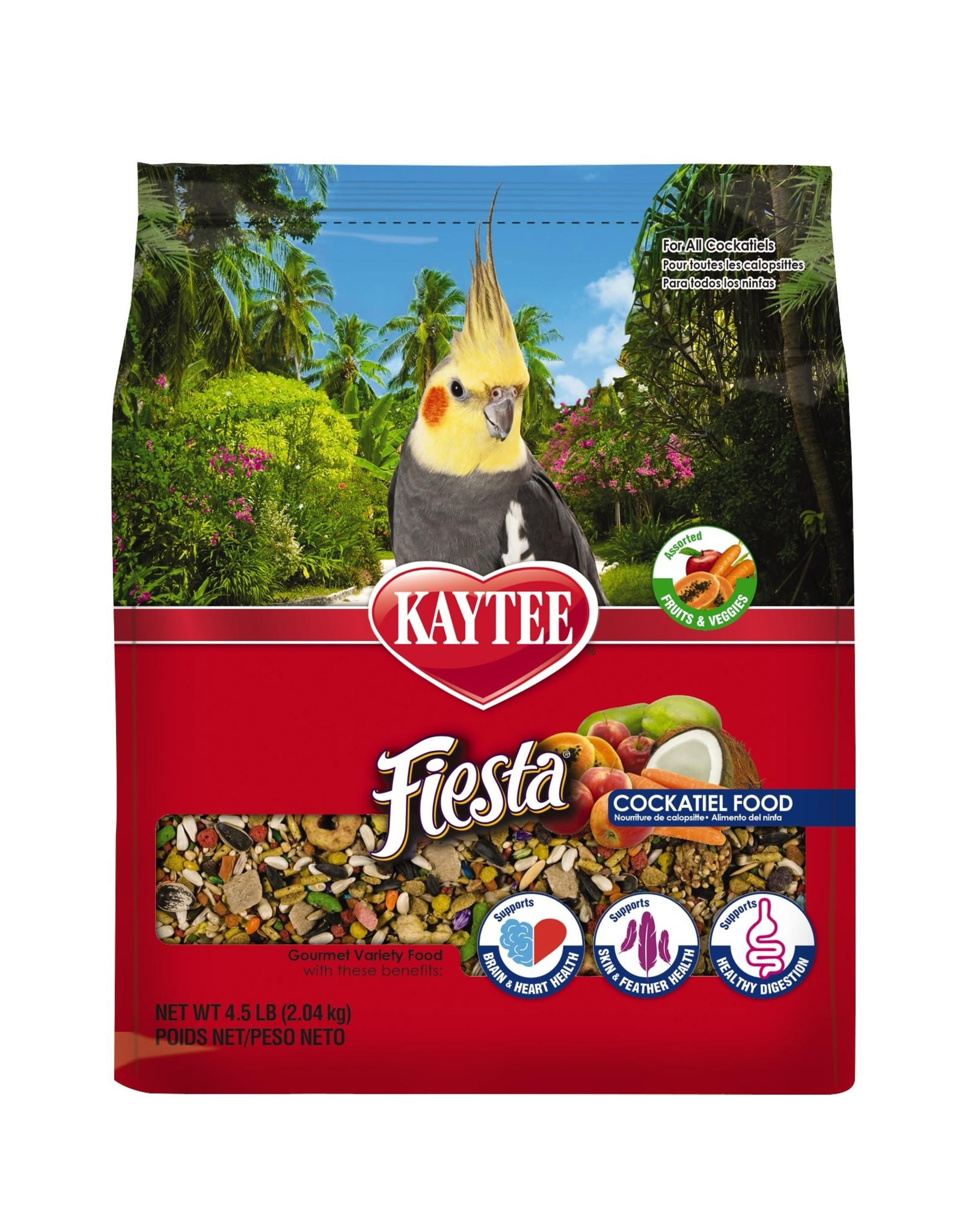 Kaytee KAYTEE COCKATIEL FIESTA SEED 2.5LB