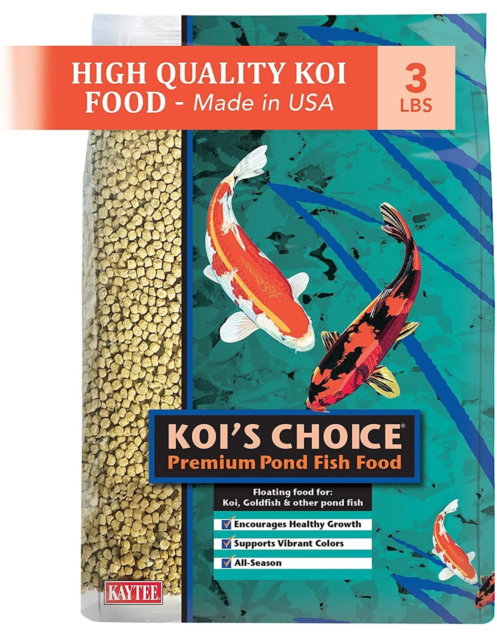 Kaytee KAYTEE KOI'S CHOICE PREMIUM POND FISH FOOD 3LB