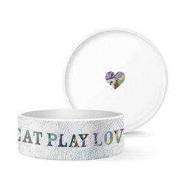 Pet Shop by Fringe Studio FRINGE STUDIO EAT PLAY LOVE LARGE PET BOWL