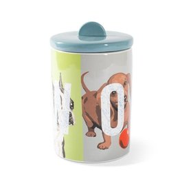 Pet Shop by Fringe Studio FRINGE STUDIO WOOF CERAMIC TREAT JAR