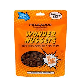 Polkadog Bakery POLKADOG WONDER NUGGETS WITH PEANUT BUTTER SOFT AND CHEWY BITS FOR DOGS 12OZ