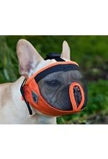 RC Pets CANINE FRIENDLY DOG SHORT SNOUT MUZZLE ORANGE
