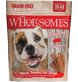 SPORTMiX Pet Foods WHOLESOMES BRUNO'S PORK JERKY STICKS 25OZ