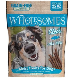 SPORTMiX Pet Foods WHOLESOMES CLEO'S FISH JERKY STICKS 25OZ