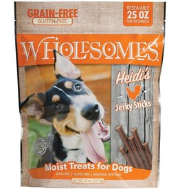 SPORTMiX Pet Foods WHOLESOMES HEIDI'S CHICKEN JERKY STICKS 25OZ