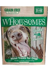 SPORTMiX Pet Foods WHOLESOMES TANK'S BEEF JERKY STICKS 25OZ