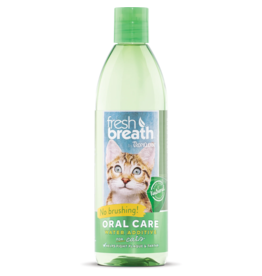 TropiClean TROPICLEAN FRESH BREATH ORAL CARE WATER ADDITIVE FOR CATS 16OZ