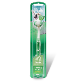 TropiClean TROPICLEAN FRESH BREATH TRIPLE FLEX TOOTHBRUSH