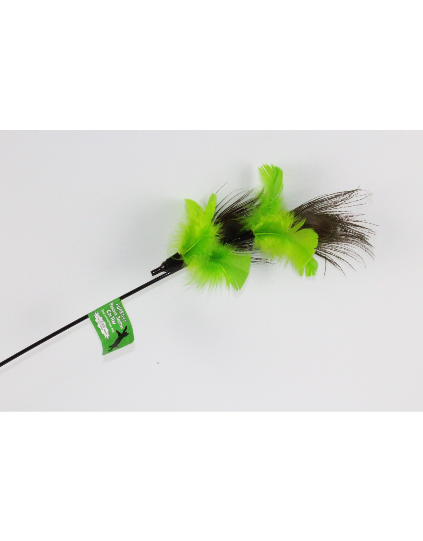 Vee Enterprises PURRFECT PEACOCK FEATHER CAT TOY
