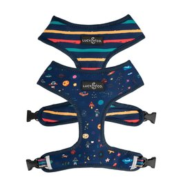 Lucy & Co. LUCY & CO. SPACE DOODLES REVERSIBLE HARNESS