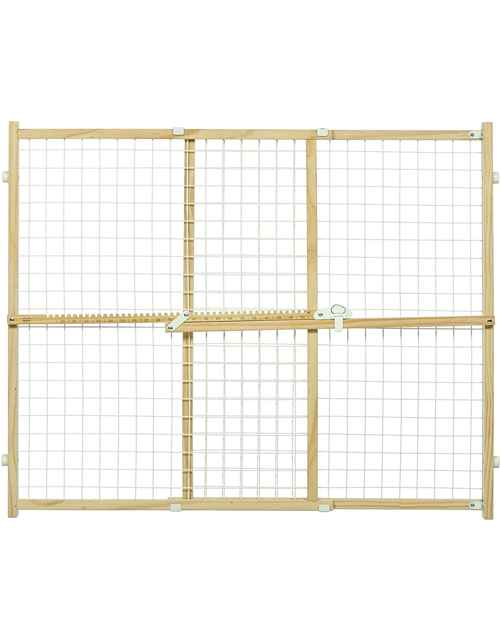 MidWest Homes for Pets MIDWEST WOOD PET GATE WIRE & MESH