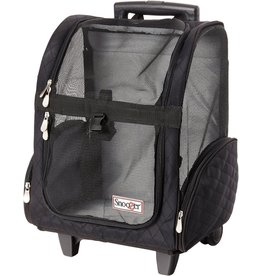 Snoozers Pet Products SNOOZER ROLL AROUND 4-IN-1 TRAVEL CARRIER MEDIUM