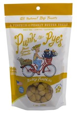 Punk-N-Pye's PUNK-N-PYE'S NUTTY PUMPKINS PUMPKIN & PEANUT BUTTER DOG TREATS 7OZ