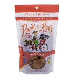 Punk-N-Pye's PUNK-N-PYE'S GONE FISHIN' SALMON & CARROT DOG TREATS 7OZ