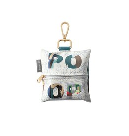 Pet Shop by Fringe Studio FRINGE STUDIO POOP WASTE BAG WITH KEYCHAIN