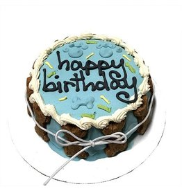 Bubba Rose Biscuit Co. BUBBA ROSE BISCUIT CO. LARGE BLUE SHELF STABLE BIRTHDAY CAKE