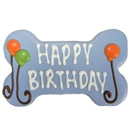Pawsitively Gourmet PAWSITIVELY GOURMET BAKERY BLUE BIRTHDAY BONE COOKIE