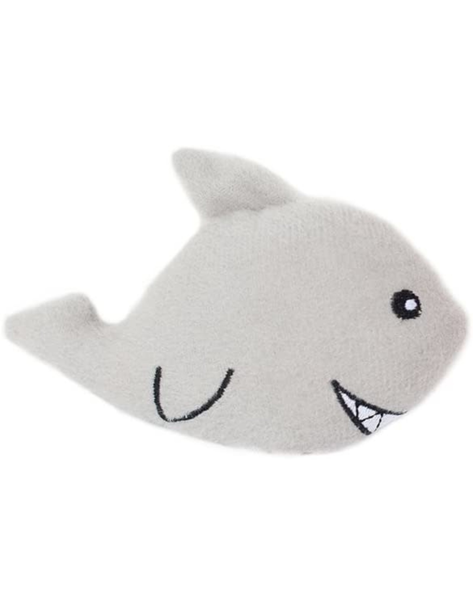 Zippypaws ZIPPYPAWS SHARK MINIZ DOG TOY
