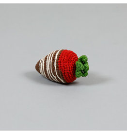 WARE OF THE DOG WARE OF THE DOG COTTON CROCHET CHOCOLATE COVERED STRAWBERRY TOY