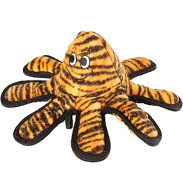 VIP Products TUFFY OCEAN CREATURES MEGA TIGER PRINT OCTOPUS DOG TOY