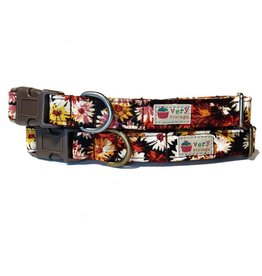 Very Vintage Designs VERY VINTAGE INDIAN SUMMER ORGANIC COTTON DOG COLLAR