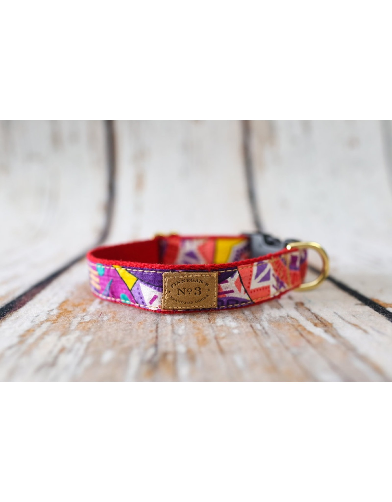 Bella Bean Couture FINNEGAN'S STANDARD GOODS SUMMER AFRICAN PRINT DOG COLLAR