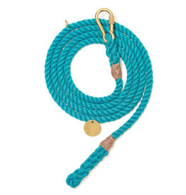 Found My Animal FOUND MY ANIMAL UP-CYCLED ROPE HORSE LEAD TEAL MEDIUM