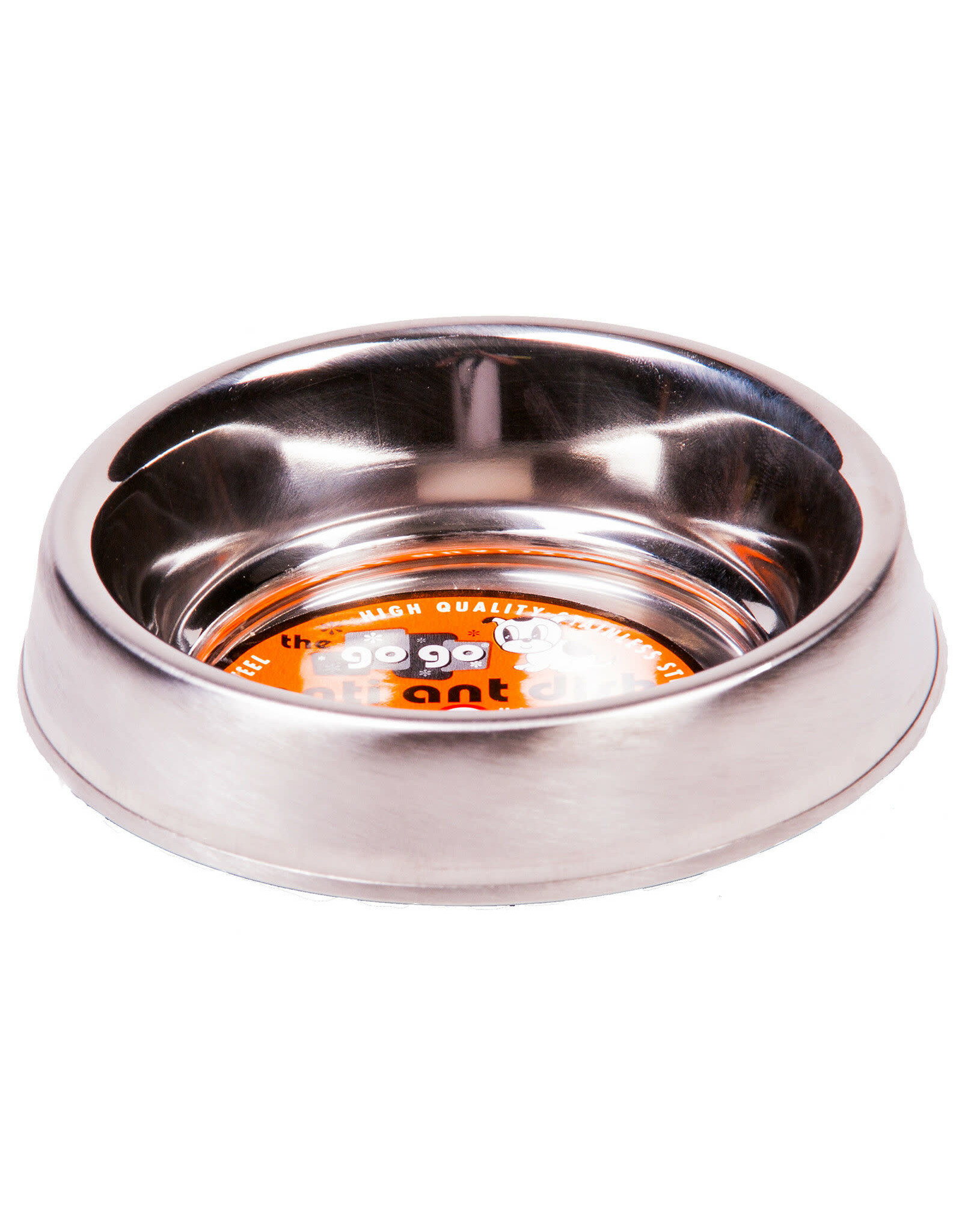 GoGo Pet Products GOGO STAINLESS STEEL ANTI-ANT PET BOWL