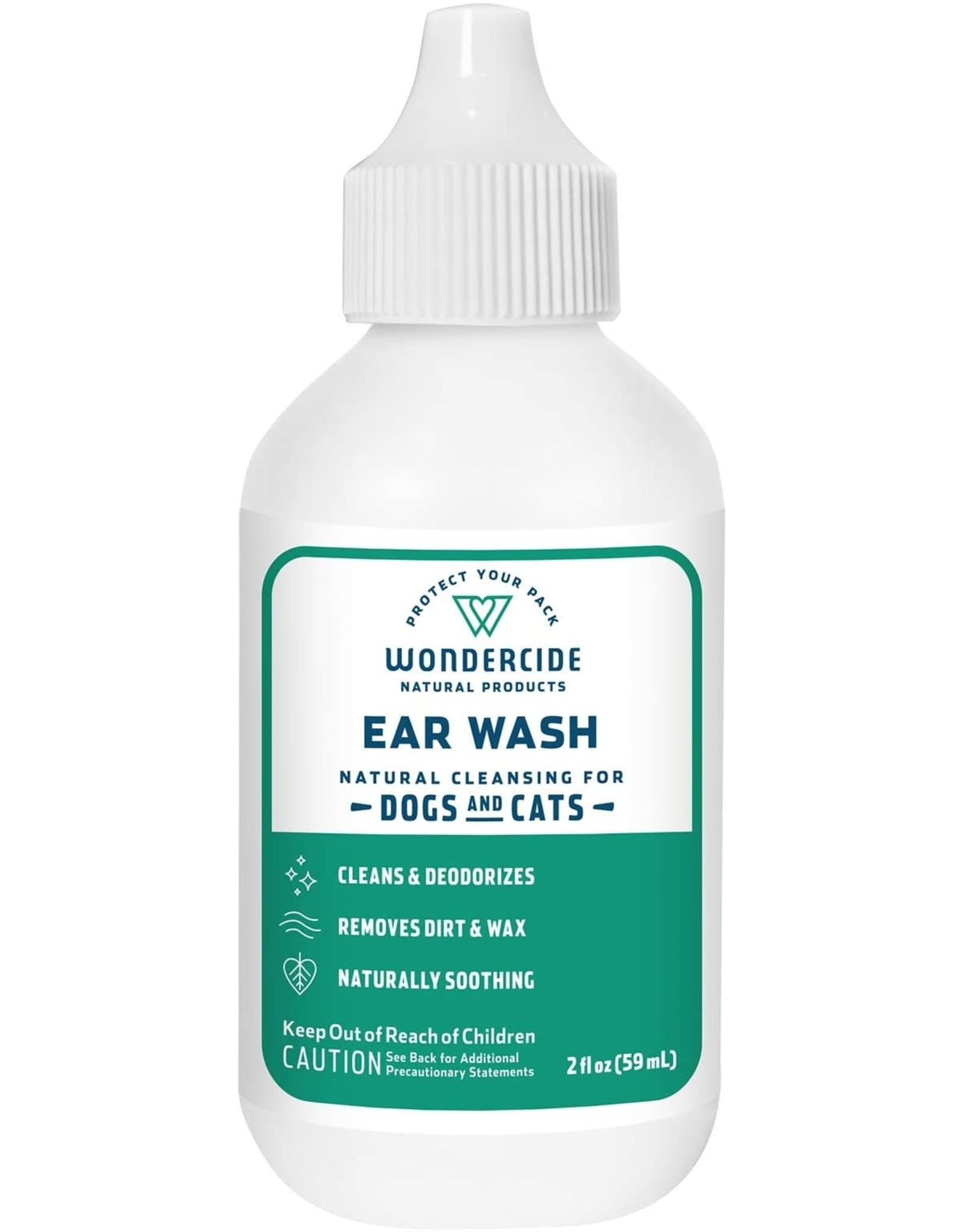 Wondercide WONDERCIDE DEODORIZING EAR WASH FOR DOGS & CATS 2OZ