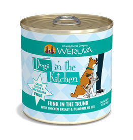 Weruva WERUVA DOG DOGS IN THE KITCHEN FUNK IN THE TRUNK WITH CHICKEN & PUMPKIN AU JUS 10OZ
