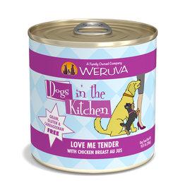 Weruva WERUVA DOG DOGS IN THE KITCHEN LOVE ME TENDER WITH CHICKEN BREAST AU JUS 10OZ