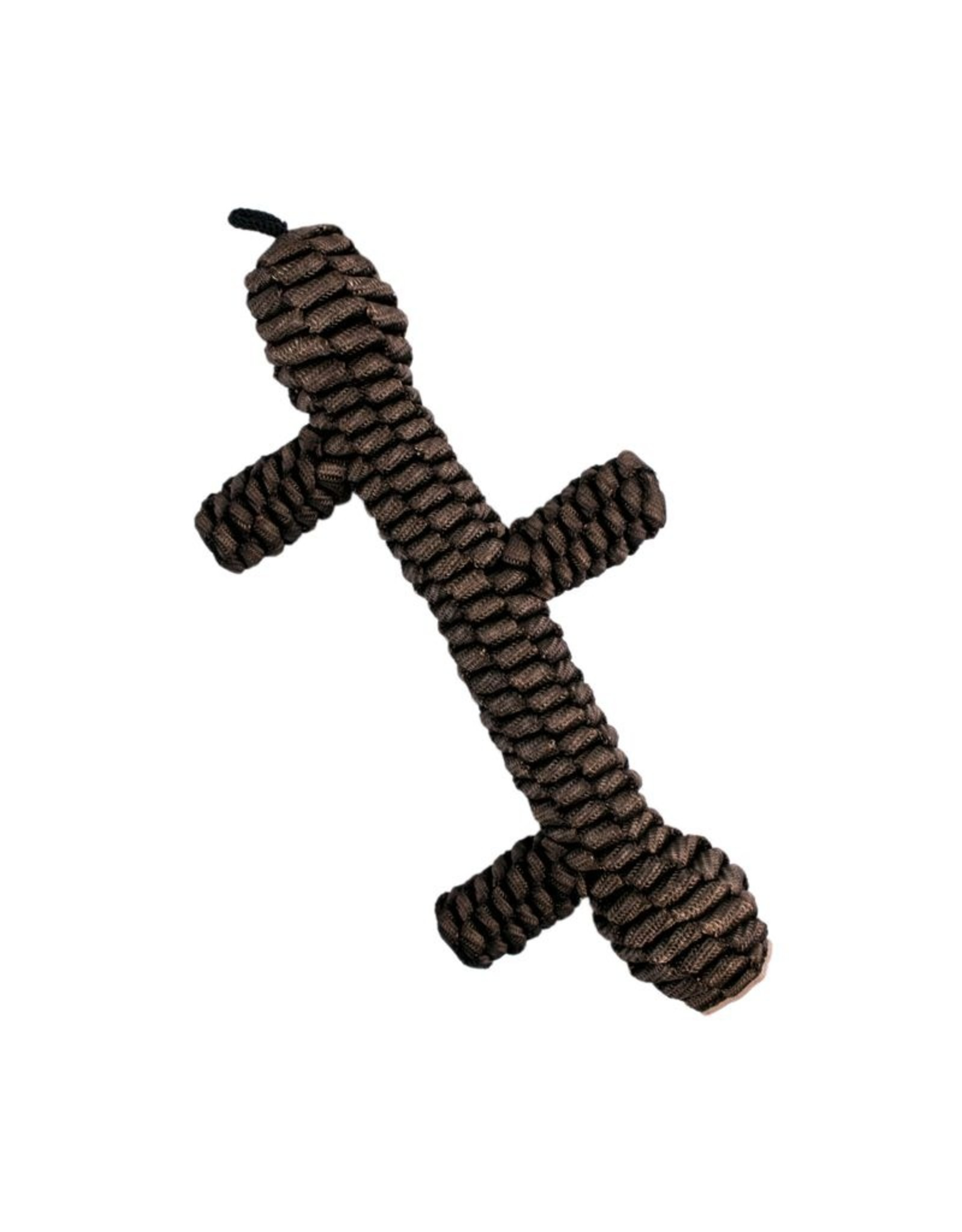 "Tall Tails TALL TAILS 9"" BROWN BRAIDED STICK TOY"